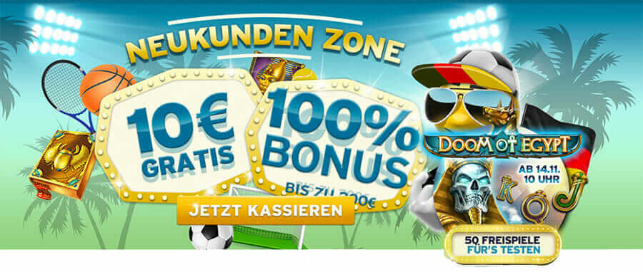 Aktuelle Bonusaktion beim Sunnyplayer Casino